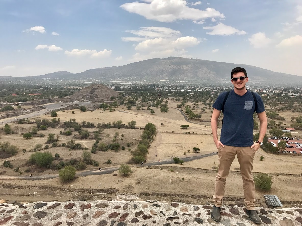 Shaul on a recent trip to Mexico.