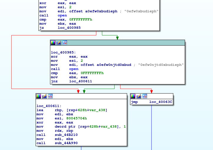 Obfuscated' Mirai sample has encoded strings